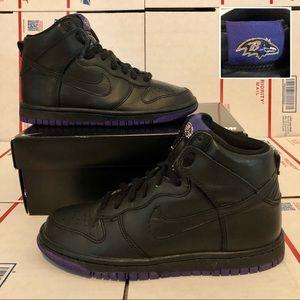 Nike Dunk High iD Baltimore Ravens 535079-901